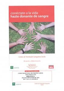 Donación sangre 9 juni 16