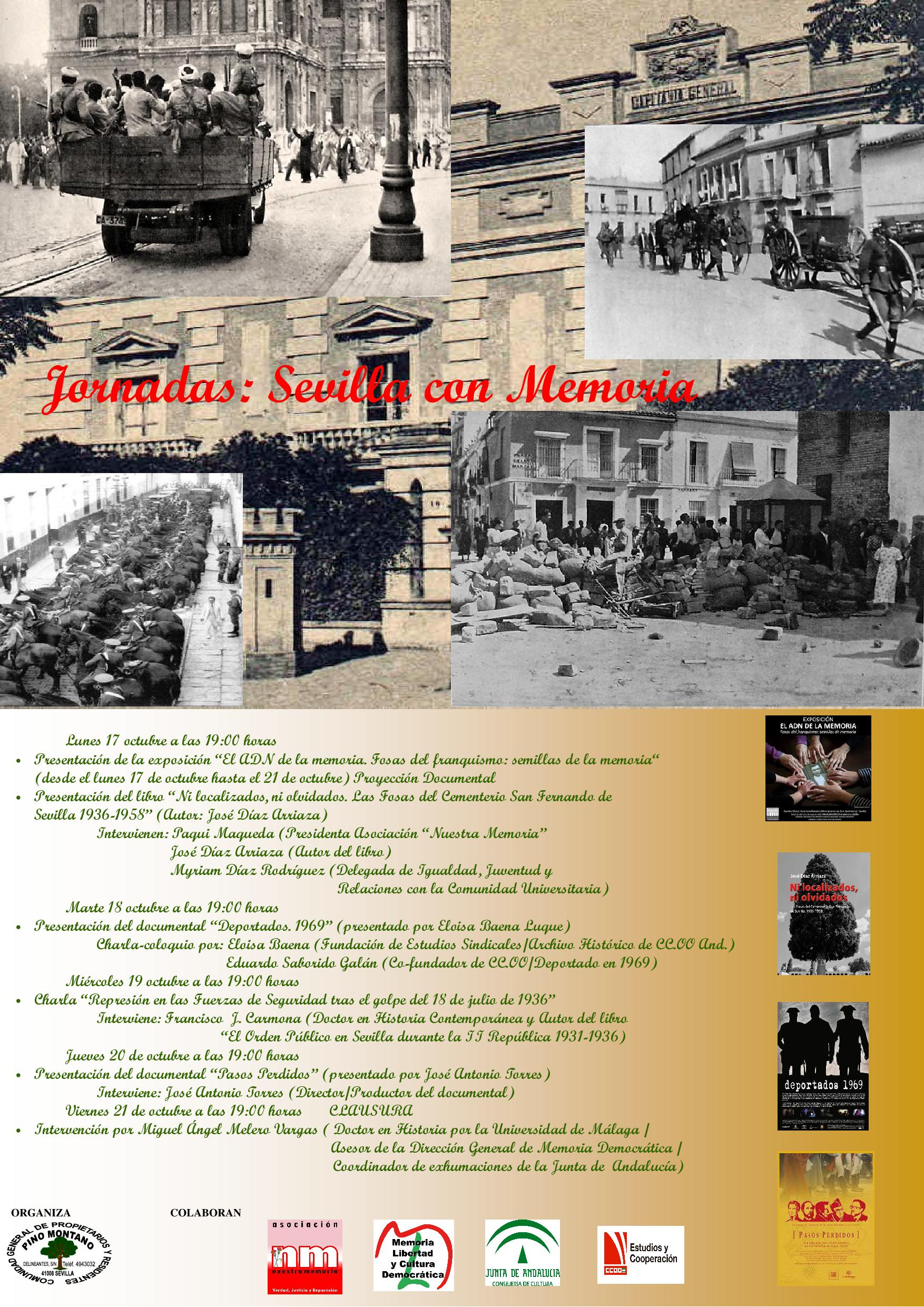 Jornadas: Sevilla con Memoria