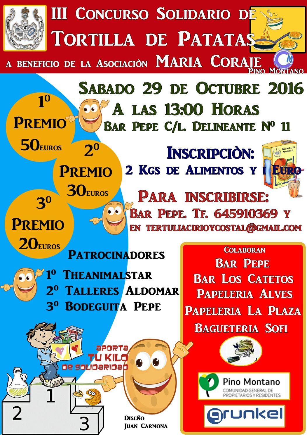 III Concurso Solidario de Tortillas de Patatas