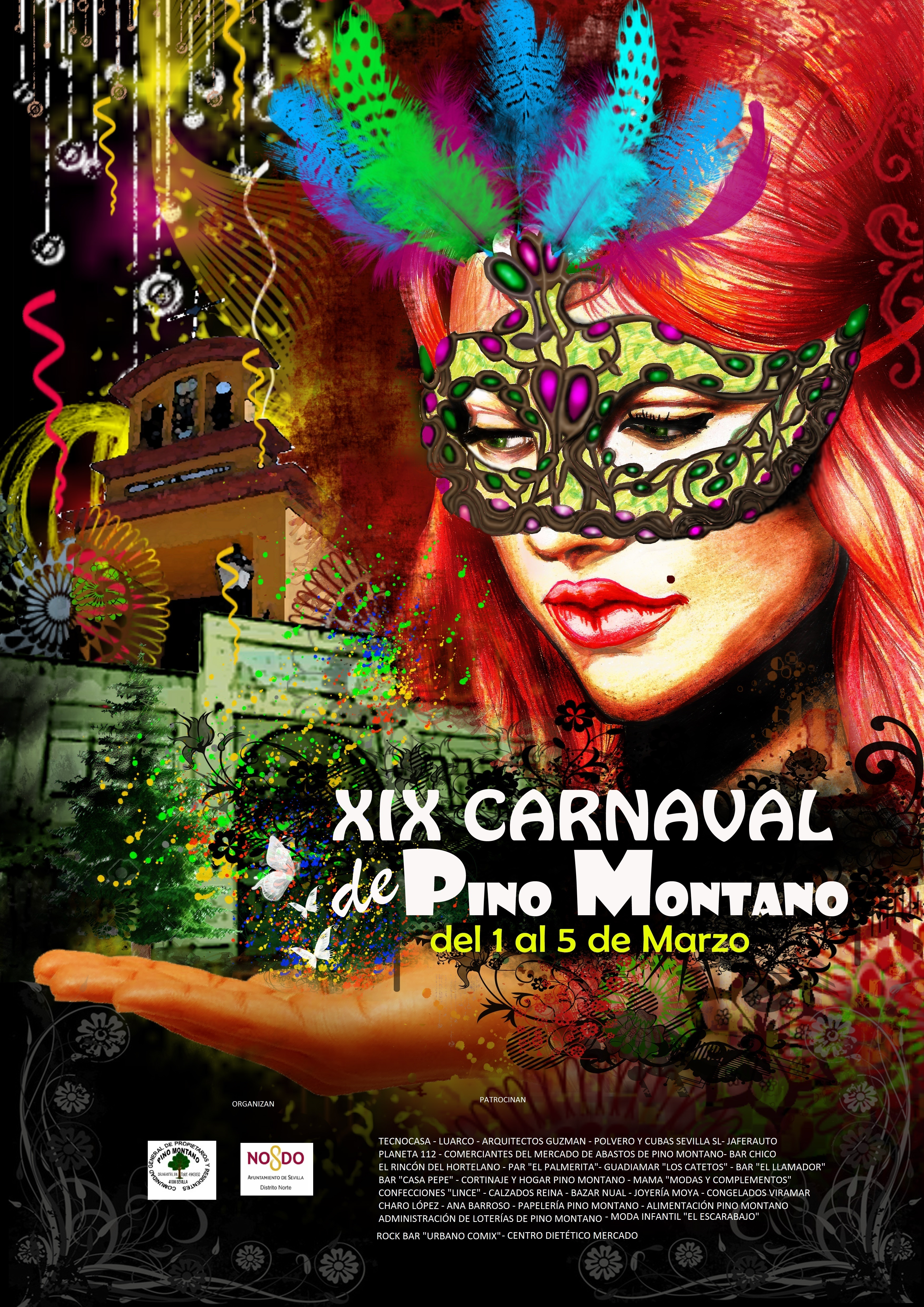Cartel Ganador XIX Carnaval Pino Montano 2017