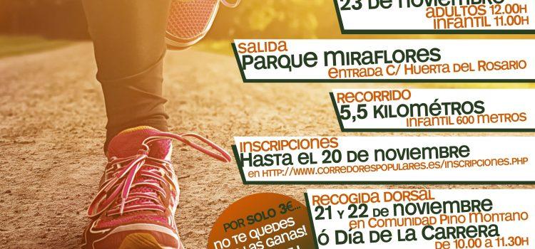 III Edición Carrera Solidaria «Pino Montano Por Una Sonrisa»