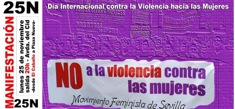25 Noviembre Día Internacional Contra la Violencia hacia las Mujeres