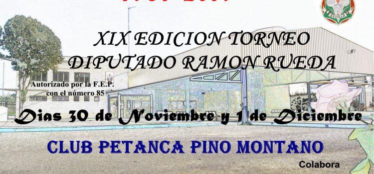 XIX Torneo Petanca Diputado Ramón Rueda
