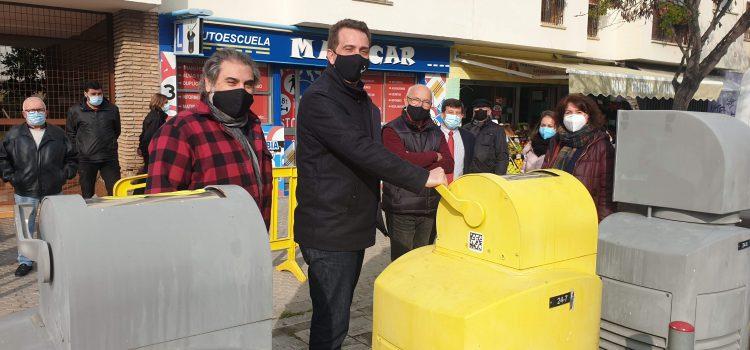 Finaliza la primera parte de la reparación del sistema de recogida neumática de residuos de Pino Montano